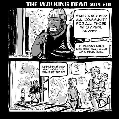 web comics,carol peletier,tyreese