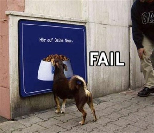 dogs FAIL poster noms - 8080793344