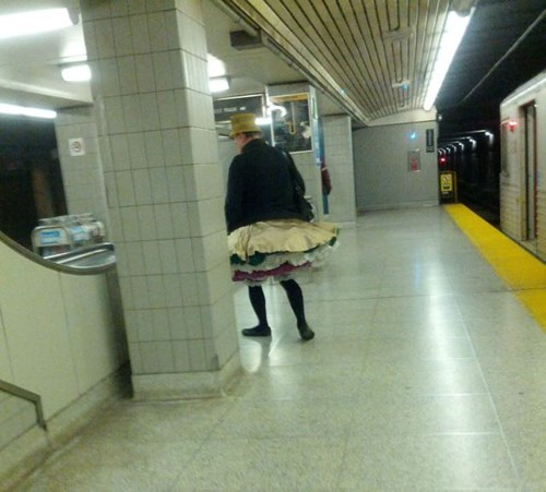 poorly dressed,skirt,Subway,g rated