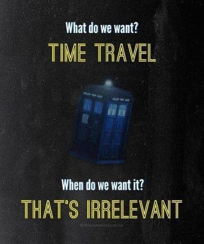 doctor who time travel relativity tardis