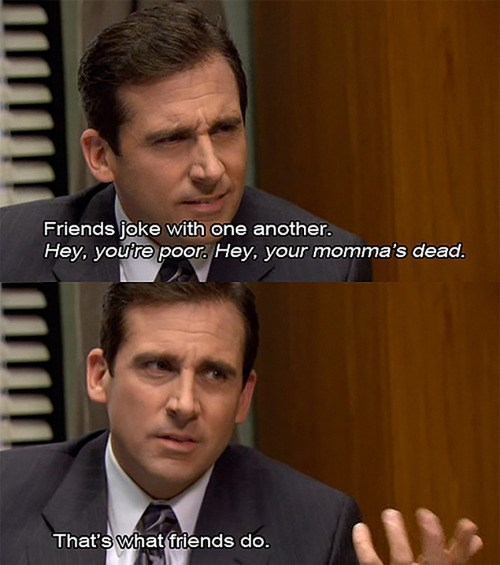 insults funny Michael Scott the office - 8080920832
