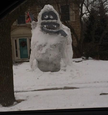 abominable snowman cartoons snow winter - 8080927232