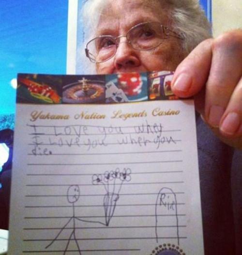 kids grandma parenting note - 8080967680