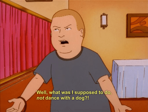 bobby hill,dogs,King of the hill,funny