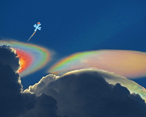clouds science rainbow dash - 8081017856