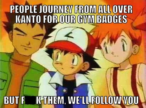 brock,misty,Pokémon