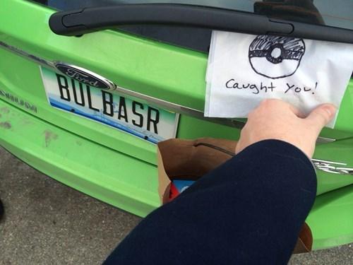 bulbasaur Pokémon license plates - 8081119744