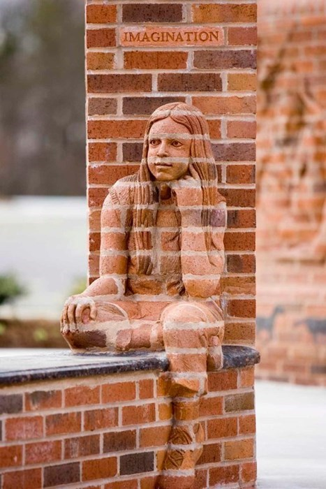 art,bricks,sculpture