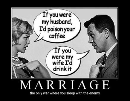 divorce funny hell marriage