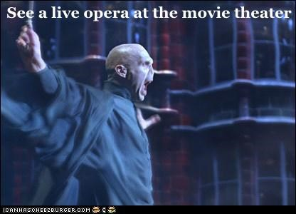 See a live opera at the movie theater