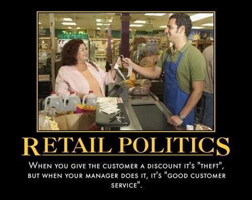 depressing,funny,politics,idiots,retail