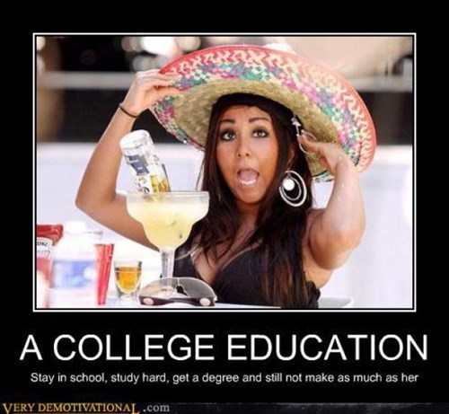 education college funny snooki - 8081934592