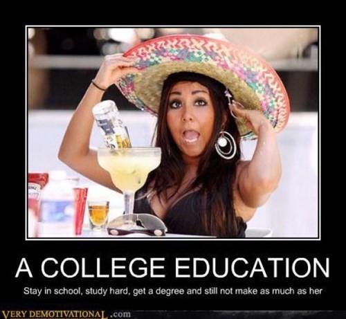 education college funny snooki - 8081934592