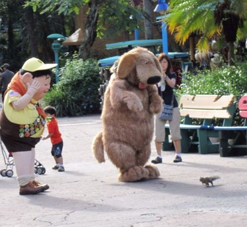Dug,disneyland,kids,parenting,up,squirrel,g rated