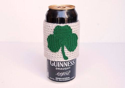 beer,guinness,St Patrick's Day,koozie