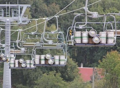 beer mountains good idea kegs funny - 8082213888