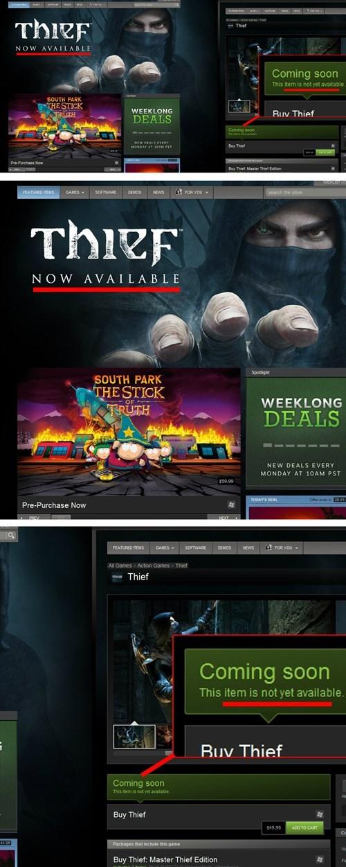 coming soon video games thief steam - 8082336512