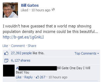Bill Gates,rival,what