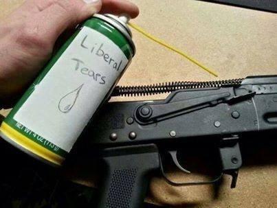 guns,liberals
