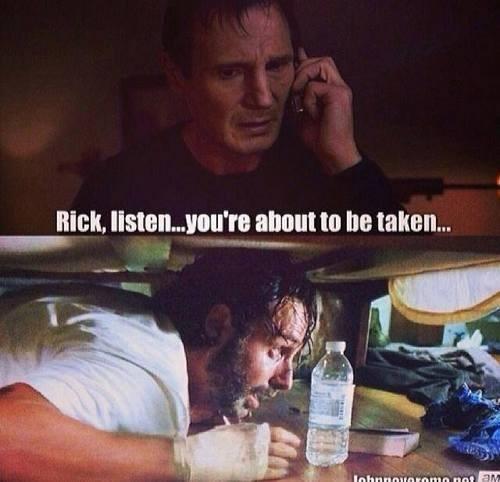 taken Rick Grimes The Walking Dead - 8082447360