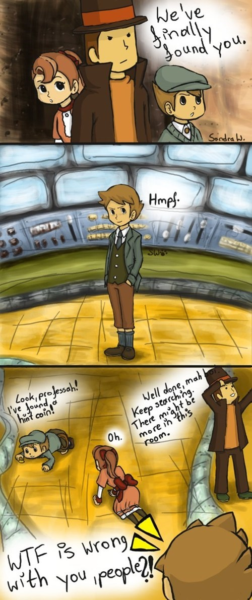 Fan Art professor layton
