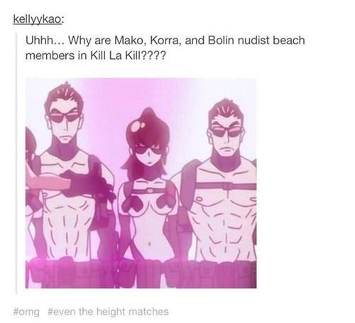 Avatar anime crossover kill la kill - 8083348992