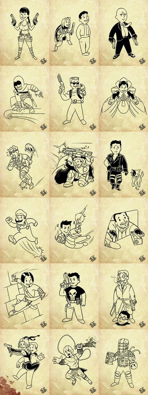 fallout 3,video games,vault boy,fallout,fallout 4,fallout vault boy