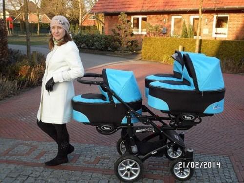 baby parenting stroller triplets - 8083463424