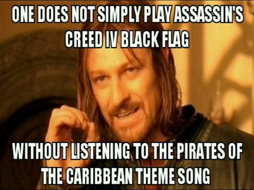 assassins creed,Pirates of the Caribbean