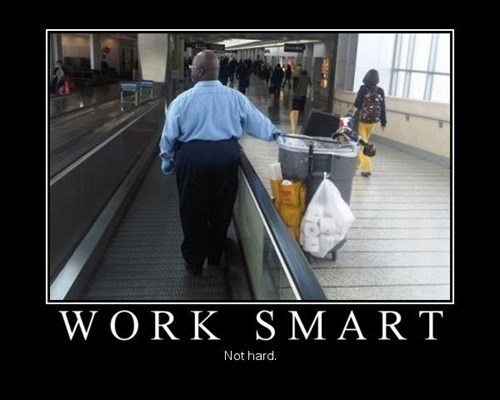 genius funny smart work