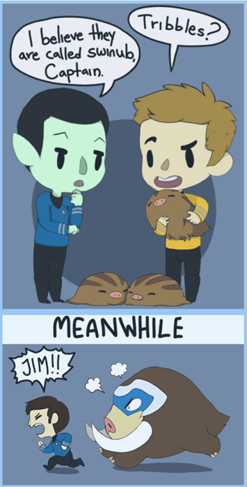 crossover Star Trek Pokémon