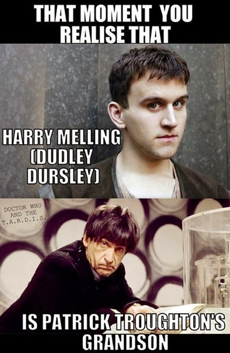 Harry Potter,classic who,2nd doctor