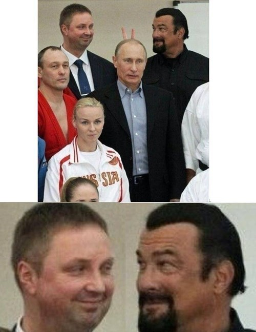 Not Even Putin is Above the Bunny Ears