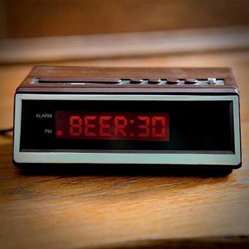 beer clock funny time - 8083774208