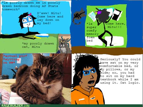 studying logic Cats - 8083879168