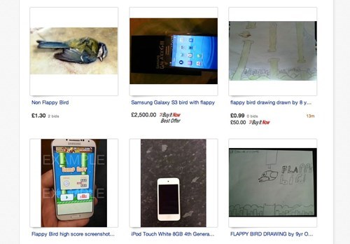 phones,flappy bird,ebay
