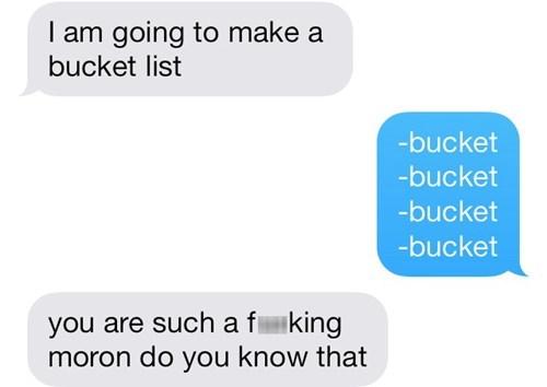 texting bucket lists - 8084026368