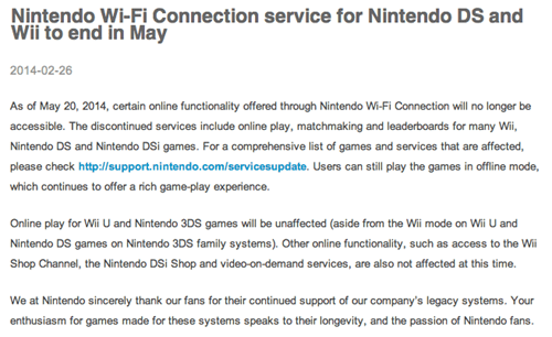 nintendo wifi nintendo ds wii Video Game Coverage