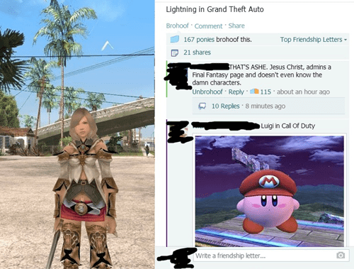 FAIL final fantasy facebook Grand Theft Auto - 8084938240