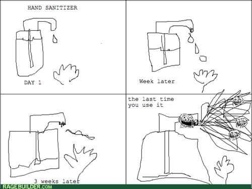 trollface hand sanitizer - 8085100544