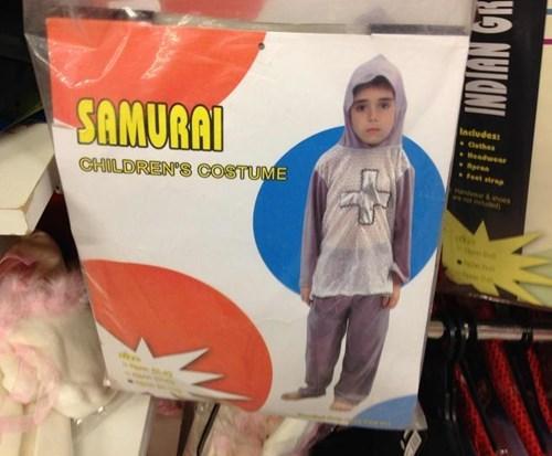 costume samurai FAIL kids parenting g rated - 8085296640