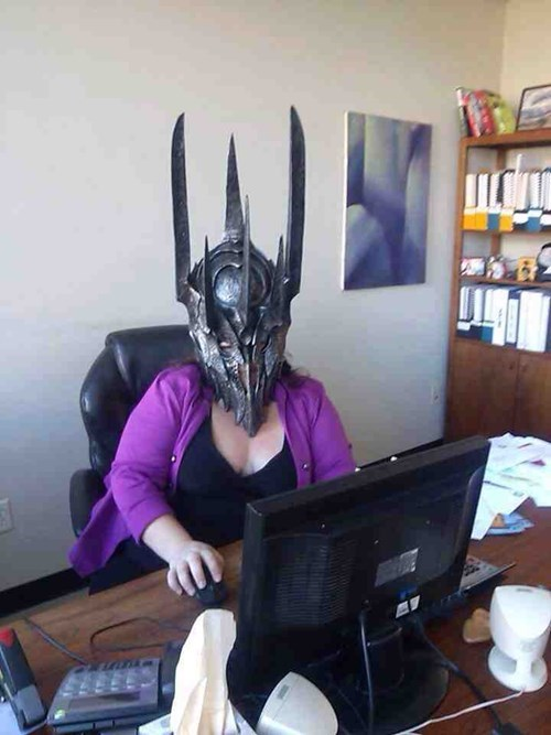 sauron,jobs,office pranks