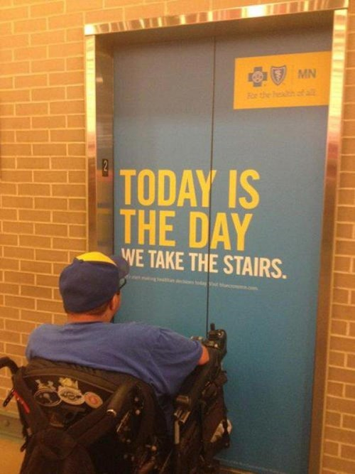 insensitive,stairs,exercise,wheelchairs