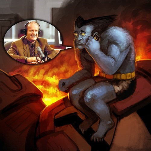 Fan Art,beast,x men,frasier