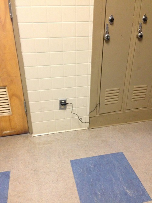 charger,lockers,outlet,funny