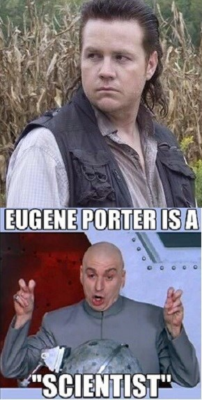 dr evil air quotes mullet scientists - 8085527808