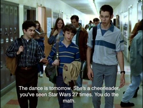 nerds,star wars,TV,freaks and geeks