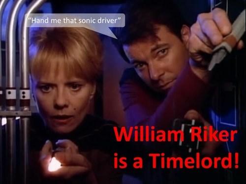 sonic screwdriver TNG Riker Star Trek - 8085748480