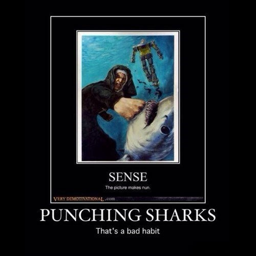 puns sharks funny nun - 8085831424