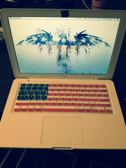 laptops old glory - 8086497024
